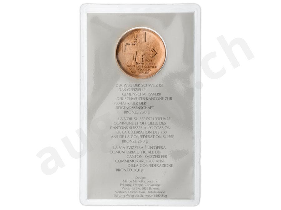 1 August Medaillen Und Münzen Jubiläums Medaillen